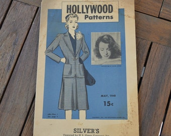 Hollywood Pattern Catalog May 1941