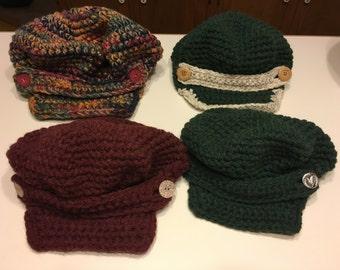 Crocheted Fashion Hat
