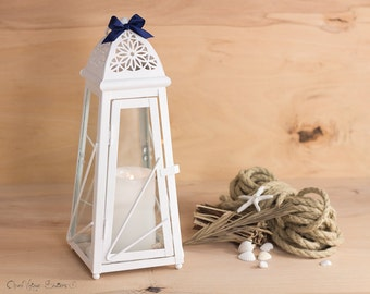 Rose Gold Lantern Centerpiece Rose Gold By Openvintageshutters
