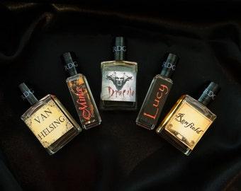 Dracula Gift Set Colognes & Perfumes  Vampire Perfume, Dracula Perfume, Dark Fantasy Perfume, Gothic Perfume, Victorian Perfume, Halloween