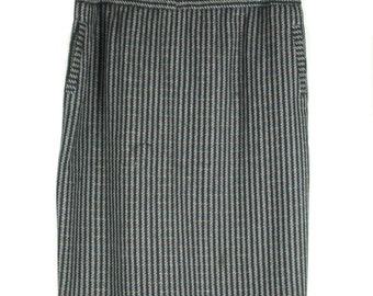 Vintage 90s Black and Grey Fleck Skirt