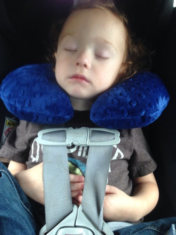 Travel Neck Pillow for baby and toddler choose your color