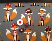 Babillard aimanté fait main recouvert de tissu renard navy marine organisation chambre mémo photos décor mural tableau d'affichage à aimants