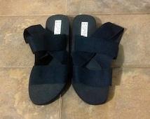 E Sprit Comfy 80's Sandals rubber And rubber Soles