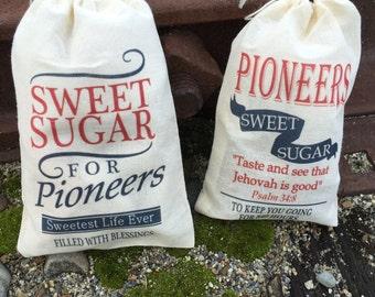 Pioneer Gift Bags - Sugar Sacks