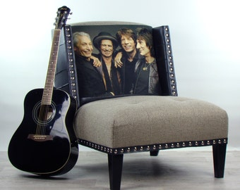 Bespoke The Rolling Stones chair