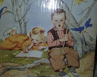 1942 Commemorative Edition of NURSERY SONGS, 50th Anniversary, children's book