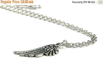 On Sale Wing Necklace Silver Chain