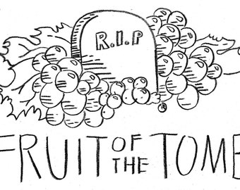 Fruit of the Tomb - Test Print Patches