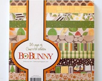 Bo Bunny Camp-A-Lot 6x6 Paper Pad