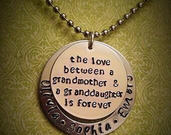 The love between grandma...