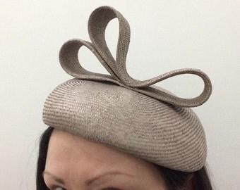 Beige Beret Hat, Natural Hatinator, Neutral Parasisal Hat