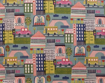 Alexander Henry -  Pretty City - Item #8329C - Linen Blue