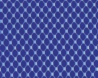 Michael Miller Fabrics - Fish Net Cobalt - CX6318-COBA-D