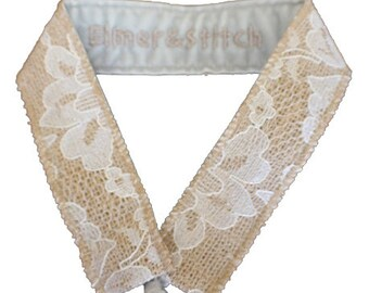 Burlap and Lace Blitzy Band, Non-SLIP Fully-Adjustable Headband, Nonslip headband, non slip headband, headband