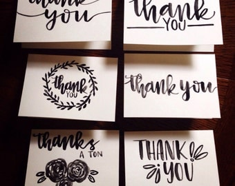 Thank You notes (set of 6)