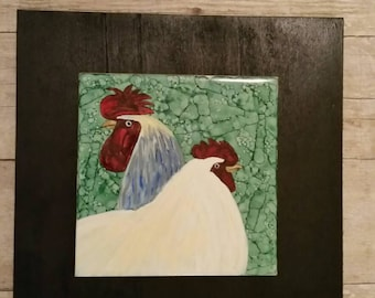 Hen And Roo Wall Hanging