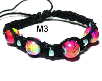 Marble Hemp Bracelets