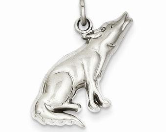 Wolf Charm (K3330)