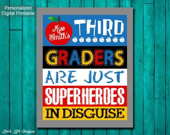 Classroom Decor Etsy ~ Items similar to superhero classroom decor gift for