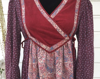 Boho India style cotton dress.