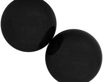 "2 Pieces 1"" in Diameter - Sphere Hematite Magnets"