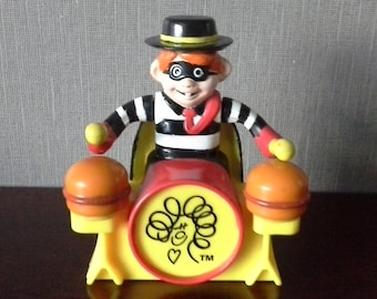 hamburglar from the happy meal band mcdonald toy