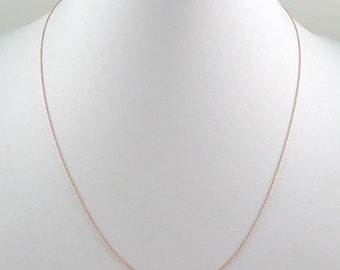 Roller 14K Rose Gold Chain 18in (0002)*