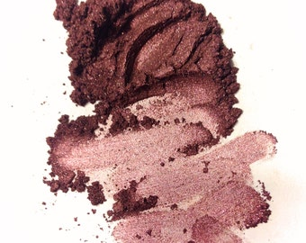 BLACK CHERRY LINER Mineral Eye Shadow - Natural Makeup - Gluten Free Vegan Face Color