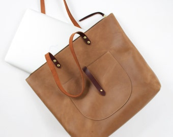 The Marlene Tote// Cocoa