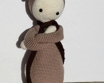 Lalylala Bina The Bear-Crochet Bear-Crochet Doll-Amigurumi Doll-  Lalylala Doll-stuffed Bear-amigurumi