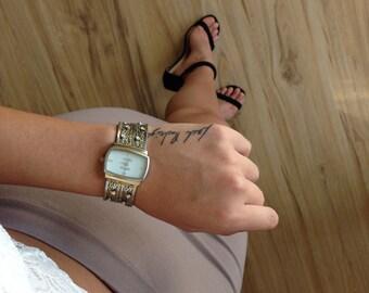Vtg Anne Klein Watch Multi Chain Straps with Rhinestones Elegant Bracelet Watch