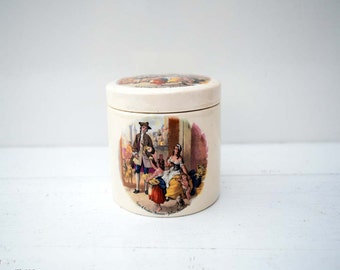 Vintage Sandland Ware Hanley Staffordshire Made in England Special for Frank Cooper Ltd Oxford Marmalade 'Cries of London' Lidded Jar