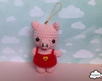 Crochet amigurumi  : Pig amigurumi