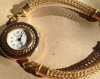 Viking knit brass watch 20.5cm