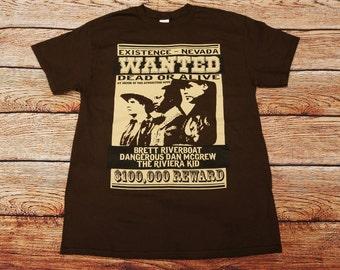 Red Dwarf - Gunmen of the Apocalypse Reward Poster TV Show T-shirt