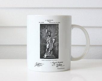Statue Of Liberty Mug, Statue Of Liberty Patent, Statue Of Liberty Mug, Statue Of Liberty Mug, Statue Of Liberty Decor PP0474