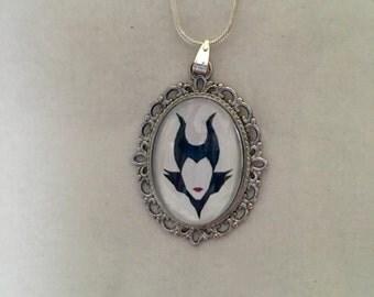 Disney Maleficent Pendant Necklace