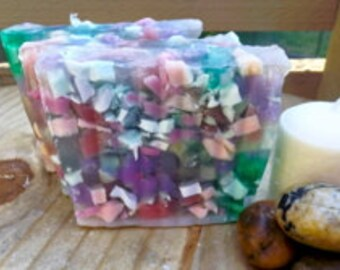 Moonlight Path type/ handmade soap/scented soap/glycerin soap/dry skin/ moisturizing/vegan/french lavender/gifts for women/ gifts for girls