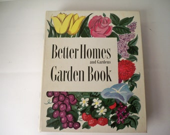 Vintage 1954 Better Homes & Gardens Garden Book practical year around guide to practical home gardening printed in USA