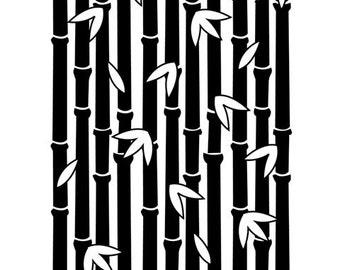 Darice® Embossing Folder - Bamboo Pattern - 4.25 x 5.75 inches