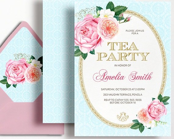 Gold Bridal Shower Invitations is best invitation ideas