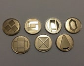 Pokemon Badges Gen 3 - Battle Frontier Symbols