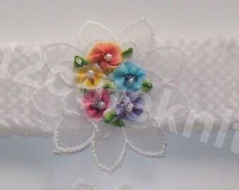 Hand Knitted Baby Girls Headband