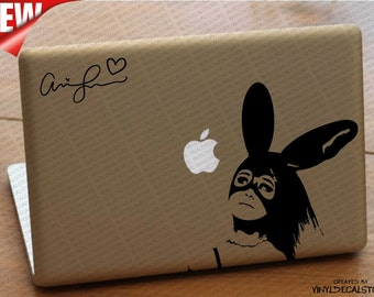 MAC MACBOOK Laptop Vinyl Decal Sticker Ariana Grande 3
