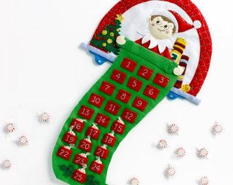 Bucilla The Elf On The Shelf ~ Felt Christmas Advent Calendar Kit #86507 Scout DIY