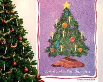 Christmas Tree Holiday Wall Decal - #65603