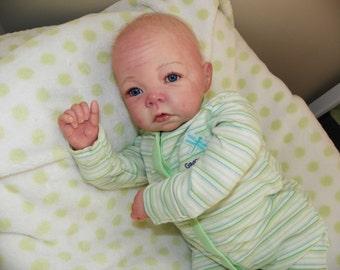 Cute  Reborn  Boy Lucas (Elly Knoops Sculpt)