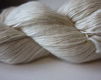 NEW***4/1 nm Mulberry Silk & Wool Blend Yarn