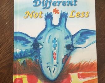 Different Not Less children's book
